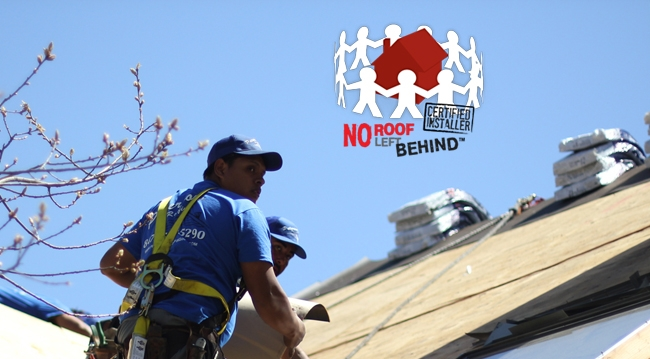 <strong>Help us give back! Nominate someone in need for a FREE roof!</strong>